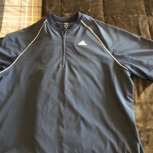 Men's Adidas short sleeve wind jacket